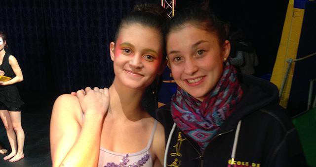 Bravo à Cassandre pour sa 3ème place au Festival de cirque de Jeunesse de Confignon