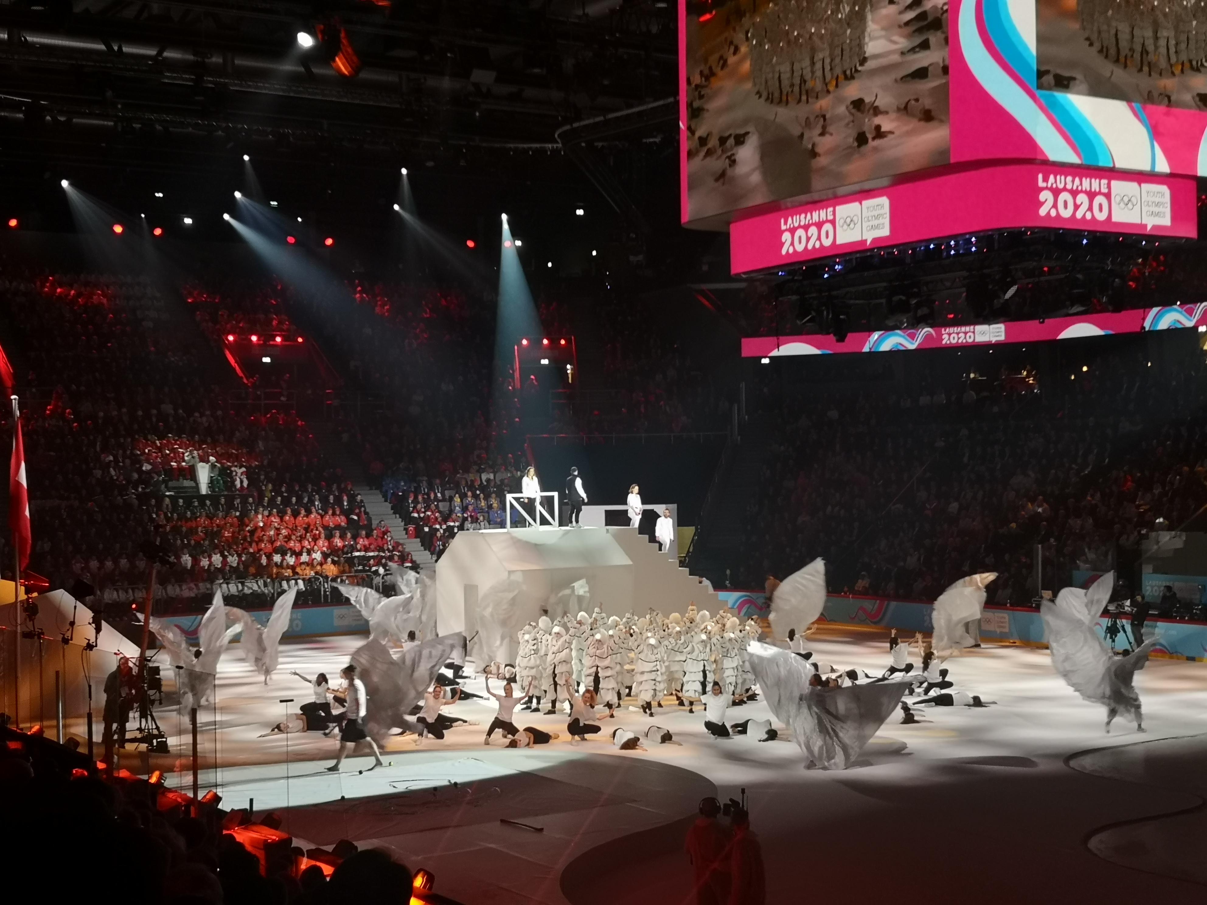 Cérémonie d'ouverture des JOJ Lausanne 2020 !