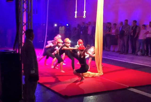 Une inauguration insolite à Saint-Gall