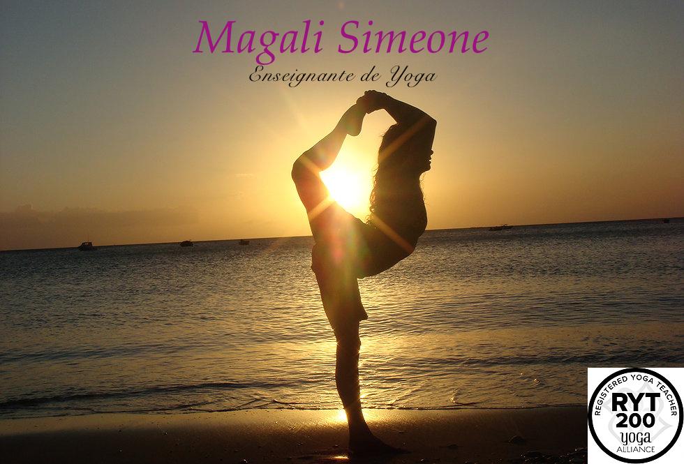 Nouveau: cours de yoga