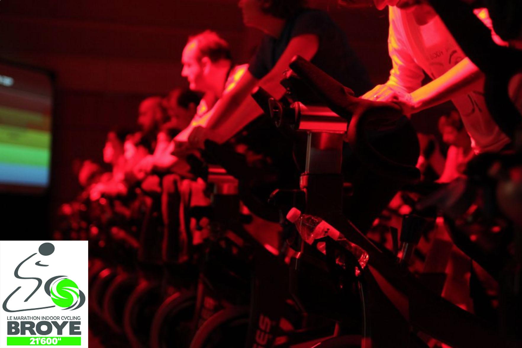 Marathon indoor de spinning « Broye 21600 »