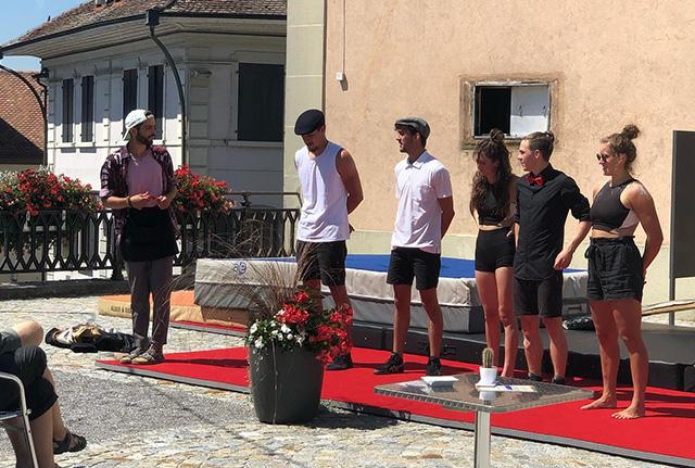 Inauguration du Café du Marché