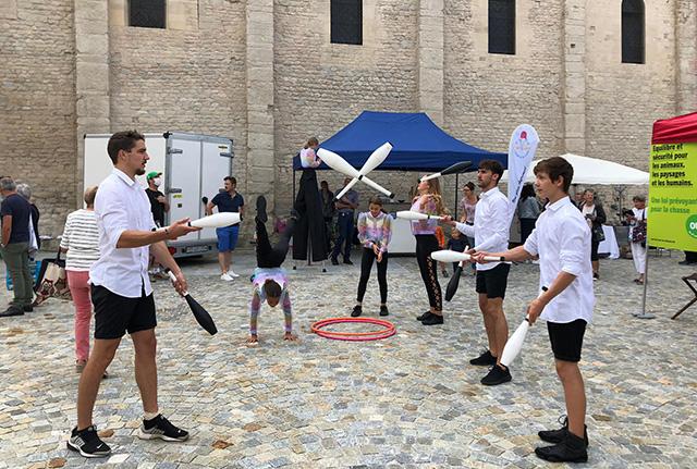 Inauguration de la Place du Marché à Payerne